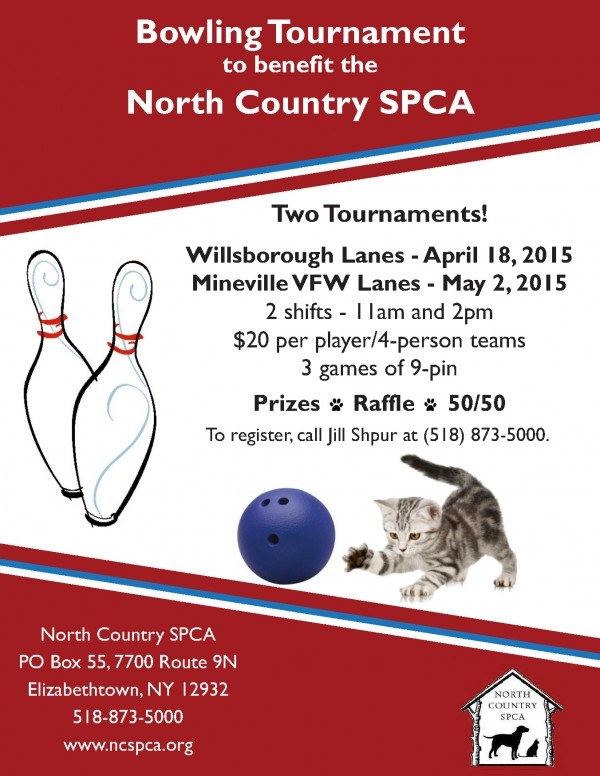 NCSPCA bowling tournament