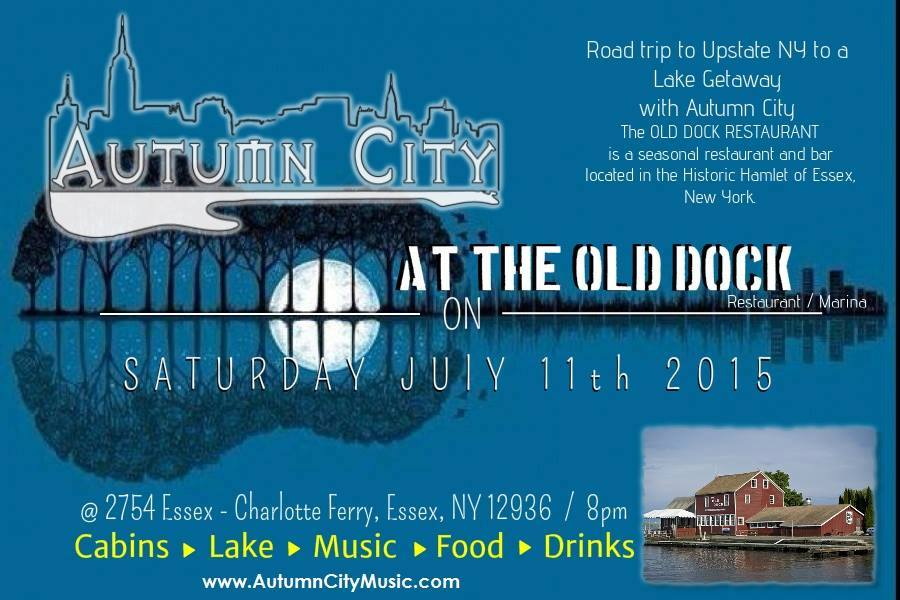Autumn City at the Old Dock (Flyer)