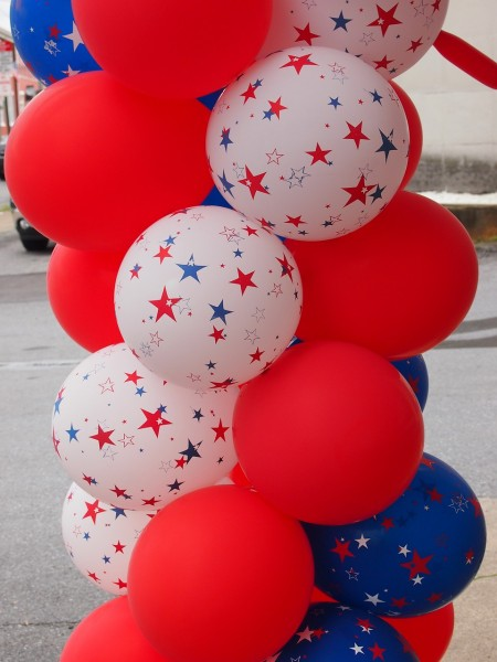 Fourth of July Balloons (Credit: Pixabay)