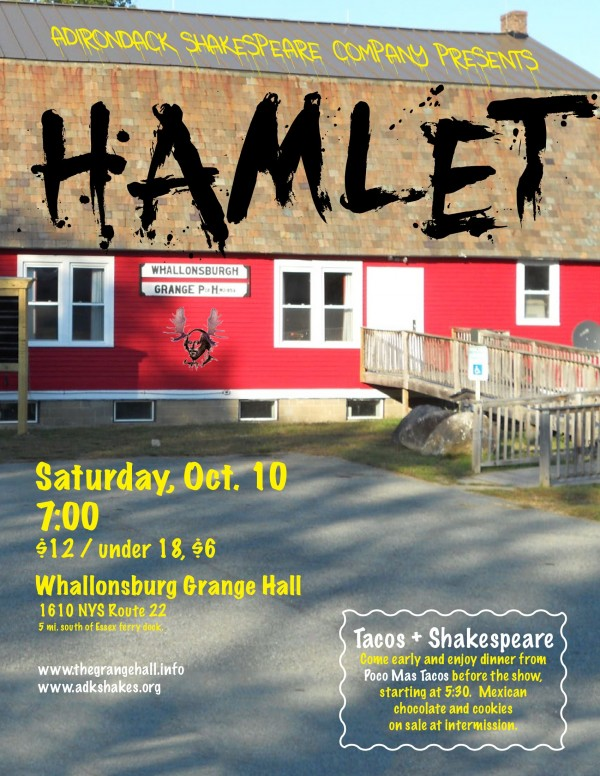Hamlet at the Grange Flyer