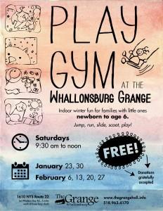 Grange Play Gym Flyer 2016