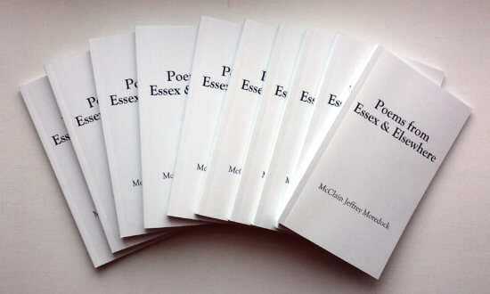Poems from Essex & Elsewhere by Jeff Moredock