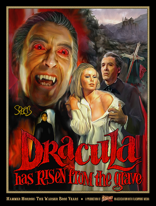 Dracula Risen from the Grave (poster)