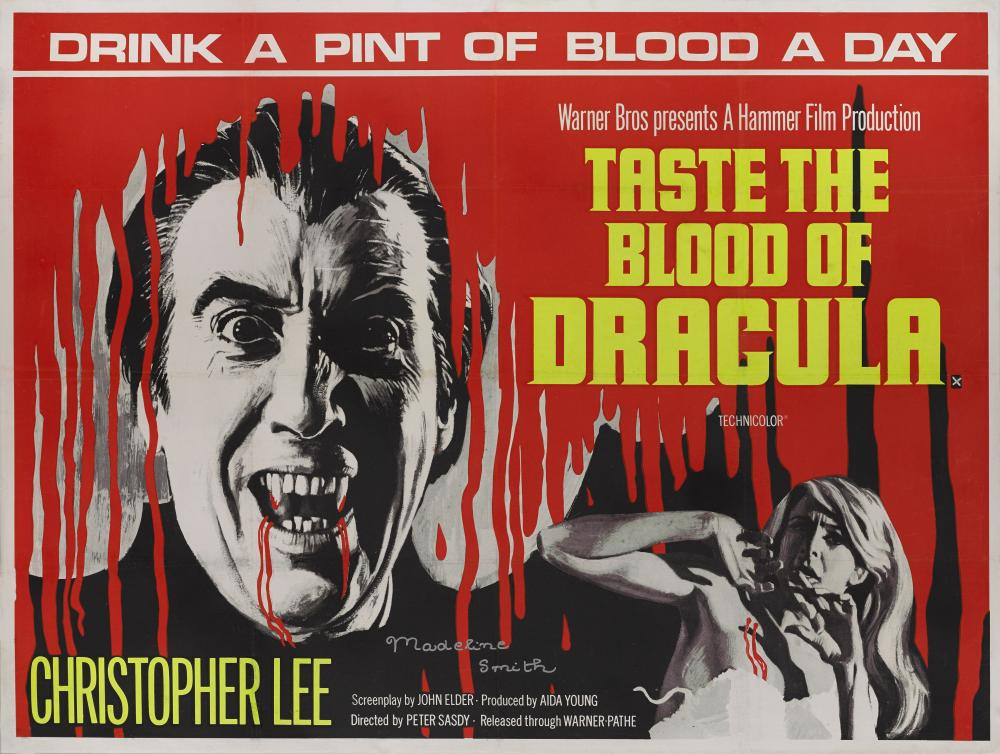 Taste the Blood of Dracula (poster)
